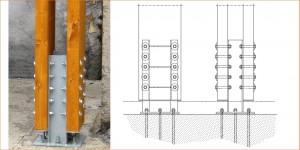 Pilastro incastrato